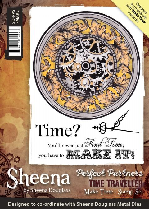Sheena Douglass Perfect Partners Time Traveller - Make Time Stamp
